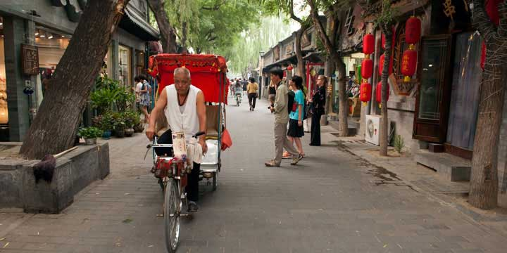 Hutong Tour mit Rikscha