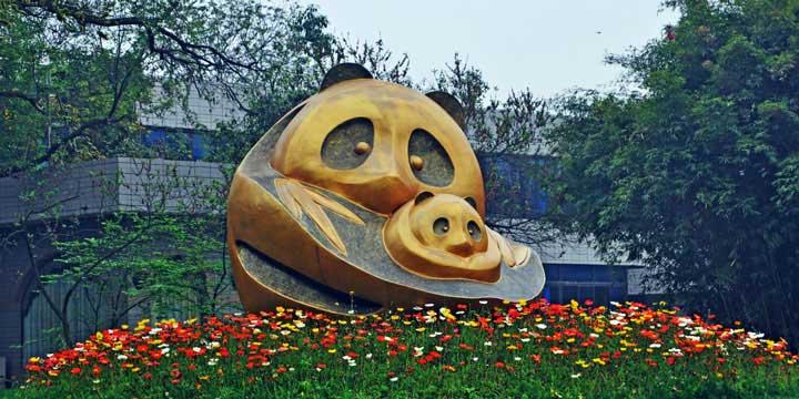 Chengdu-Forschungsbasis der Riesenpanda-Zucht