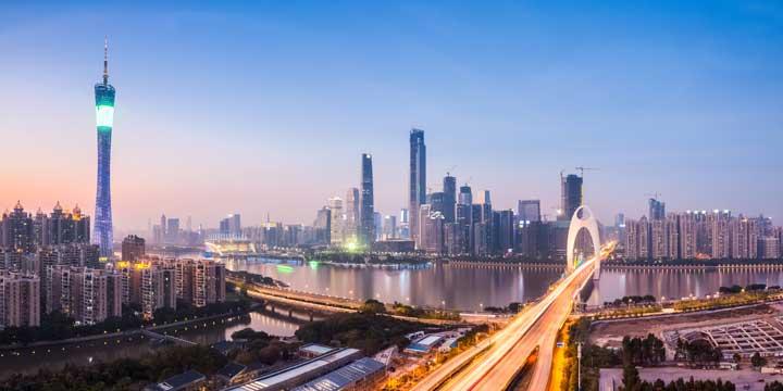 Stadtblick Guangzhous
