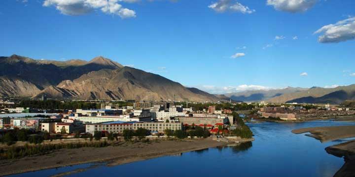Stadtblick von Lhasa