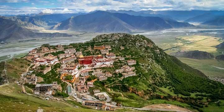 Stadtblick Lhasas