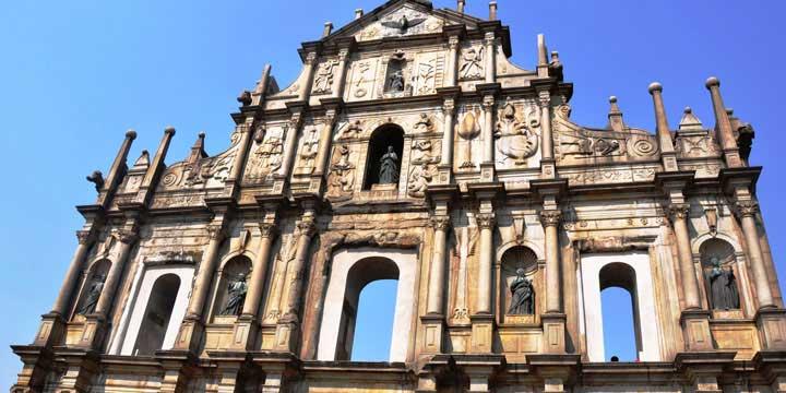 die Ruinen der Pauluskirche