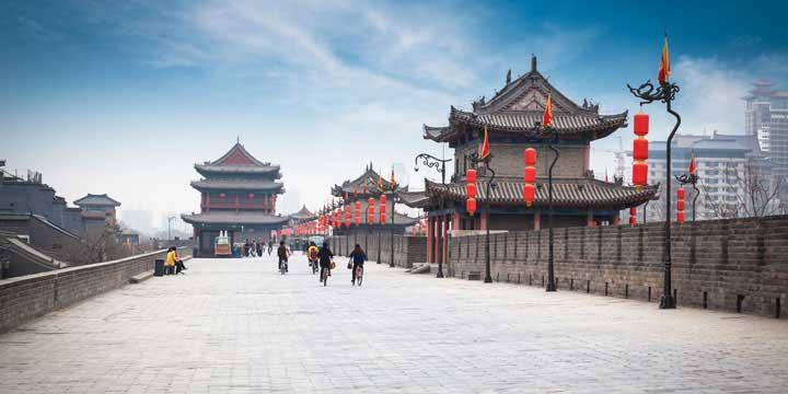 Xian Stadtmauer