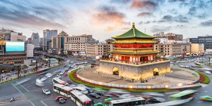 Stadtblick Xi'ans