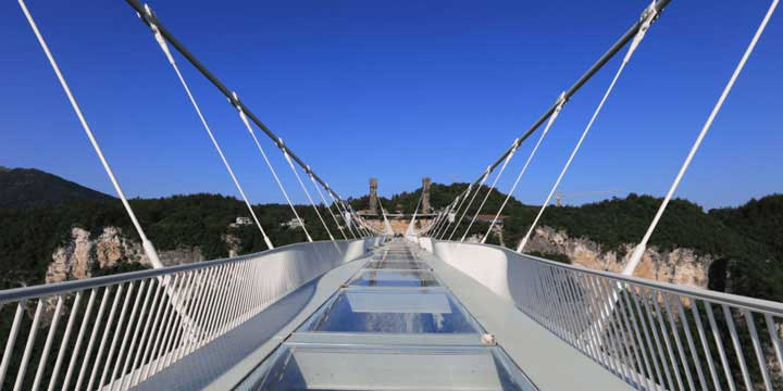 Große Schlucht Glasbrücke