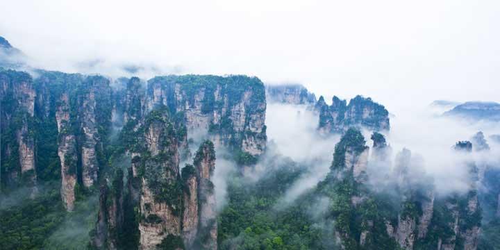 Zhangjiajie Nationale Waldpark