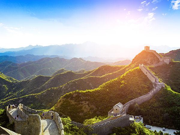 Die Große Mauer in Badaling