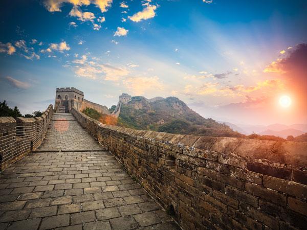 Die Große Mauer in Peking