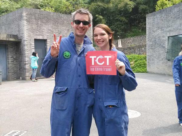 4 Tage Chengdu Reise mit Riesenpanda Freiwillige Programm