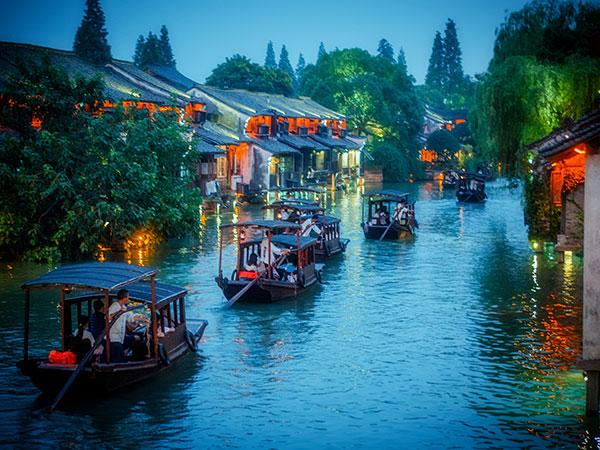 4 Tage Hangzhou und Wuzhen-Wasserdorf Reise