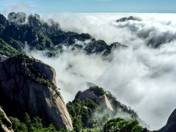 4 Tage Huangshan Berg Highlight Reise