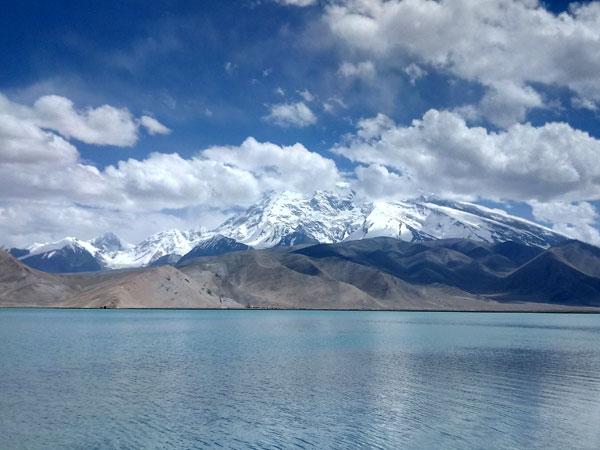 Lac Karakul à Kashgar